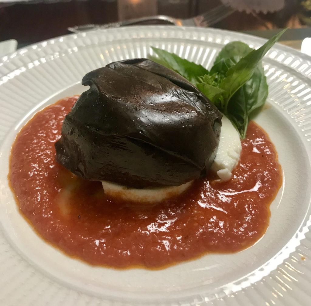 My eggplant tart.