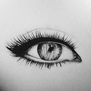 drawing eye eyes drawings makeup heart sketches sketch magic easy hipster eyeliner grunge lovethispic lady cartoon artistic illustration styles