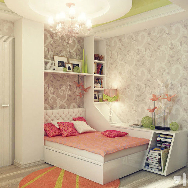 Teenage Girl Small Bedroom Ideas Novocom Top