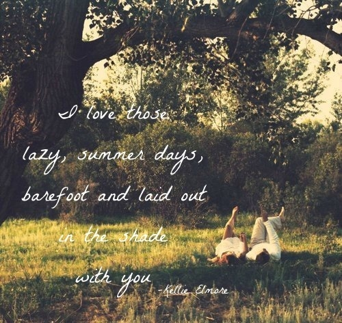 Lazy Summer Quotes Quotesgram