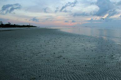 Miles of beach . . .