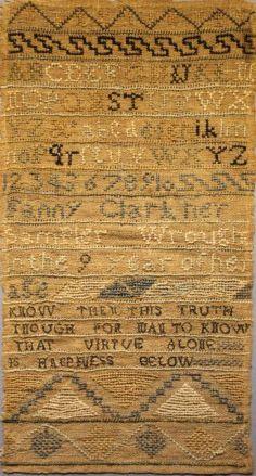 Fanny Clark, aged 9