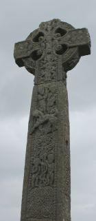 11th century high cross at Drumcliffe