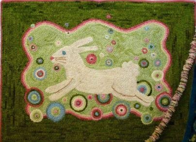 Fabulous rug hooking from thepaisleystudio.com!