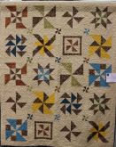 By Kerry Mero; this was last year's Block of the Month quilt