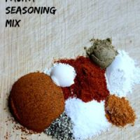 Homemade Fajita Seasoning Mix