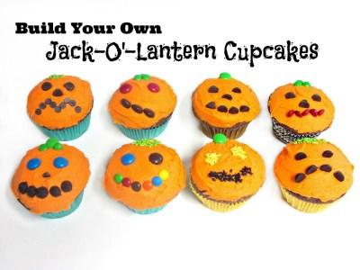 Jack-O'-Lantern Cupcakes