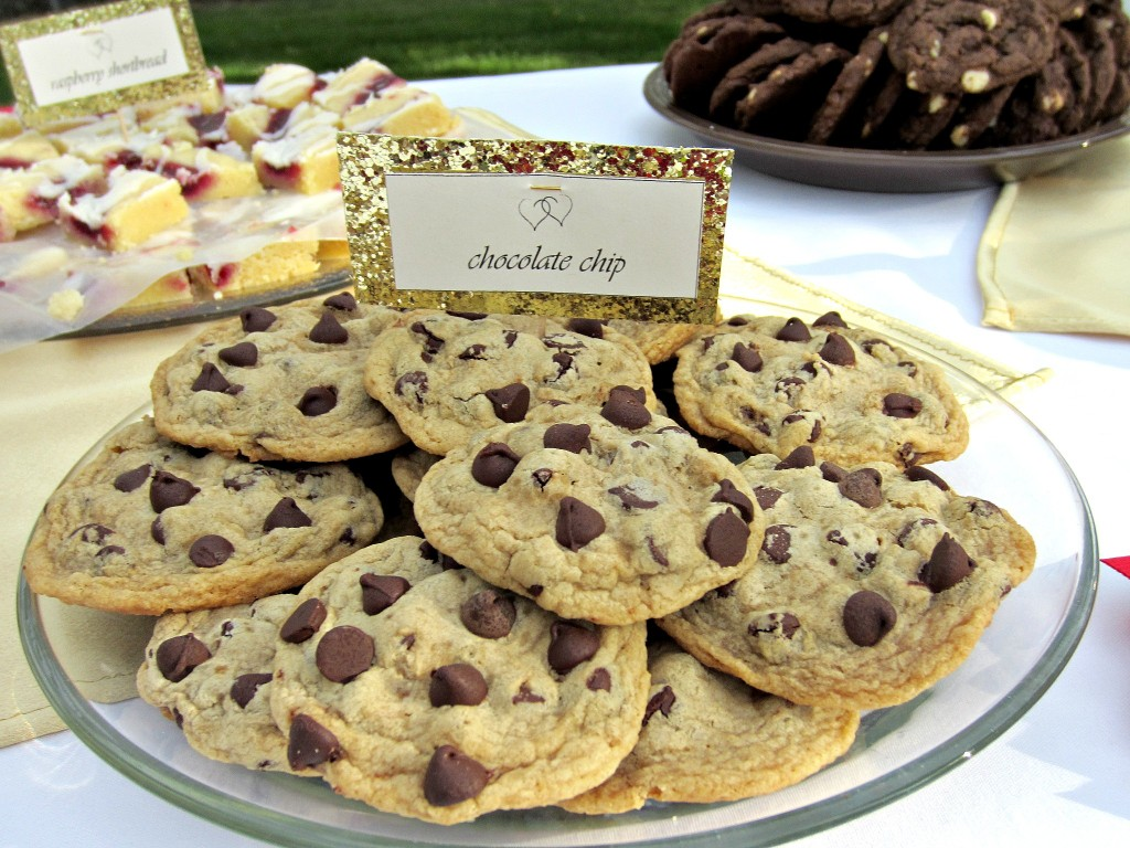 Wedding Reception Cookie Bar  Love to be in the Kitchen