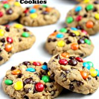 Healthier Monster Cookies
