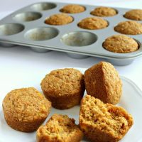 Healthy Juice Pulp Muffins