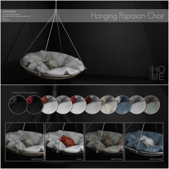 Hanging Chair The Sims 4 Office With Leg Rest Pixel Mode  Papasan Love To Decorate