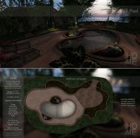 Pixel Mode - Backyard Pool.