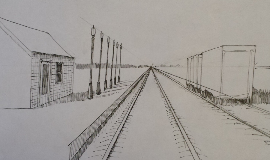 One Point Perspective  Part 2  Love to Draw