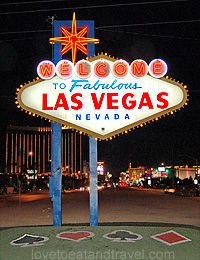 Las Vegas sign, Las Vegas, Nevada