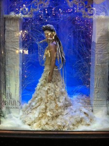 Crystal-Chrismas Window Displays at Harrods in London