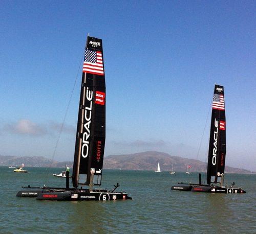 Oracle Team USA - America's Cup World Series 2012, San Francisco, CA – © LoveToEatAndTravel.com