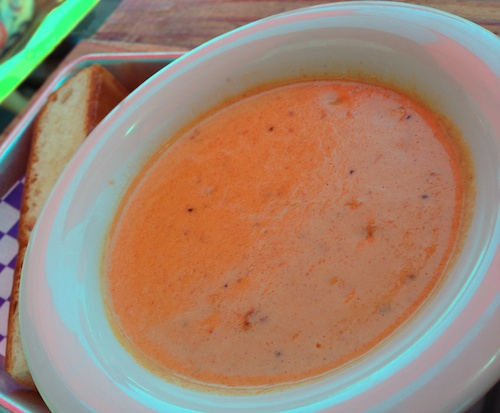 New England Lobster Market and Eatery Restaurant in Burlingame California -Lobster Corn Soup