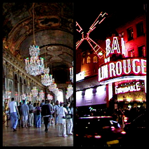 Hall of Mirrors at Versailles Palace and Moulin Rouge in Paris, France– © LoveToEatAndTravel.com
