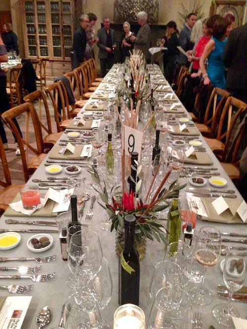 Sonoma Valley's Feast of the Olives Dinner – © LoveToEatAndTravel.com