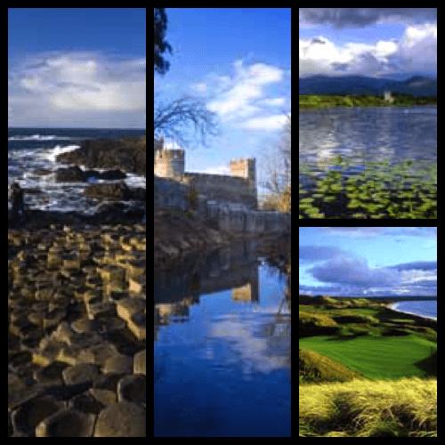 Ireland - Giant's Causeway (natural wonder), Ancient Castles & World-Class Golf © Tourism Ireland