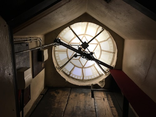 Clock Face Bath Abbey, Bath, UK - photo © Love to Eat and Travel