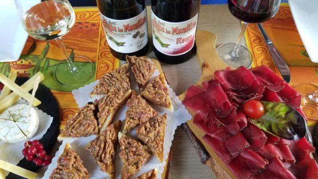 Yvorne Badouxtheque meat platter - Credit: Deborah Grossman