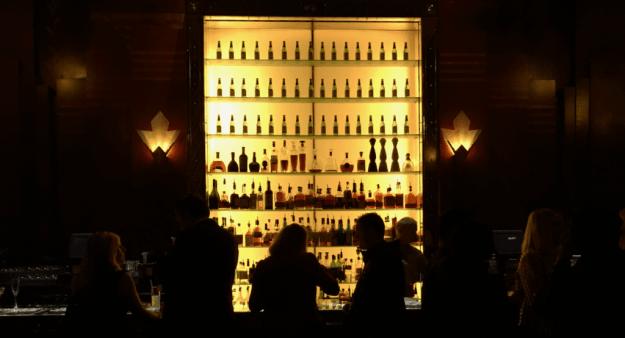 Stunning Redwood Room bar at Clift SF - photo © LoveToEatAndTravel.com