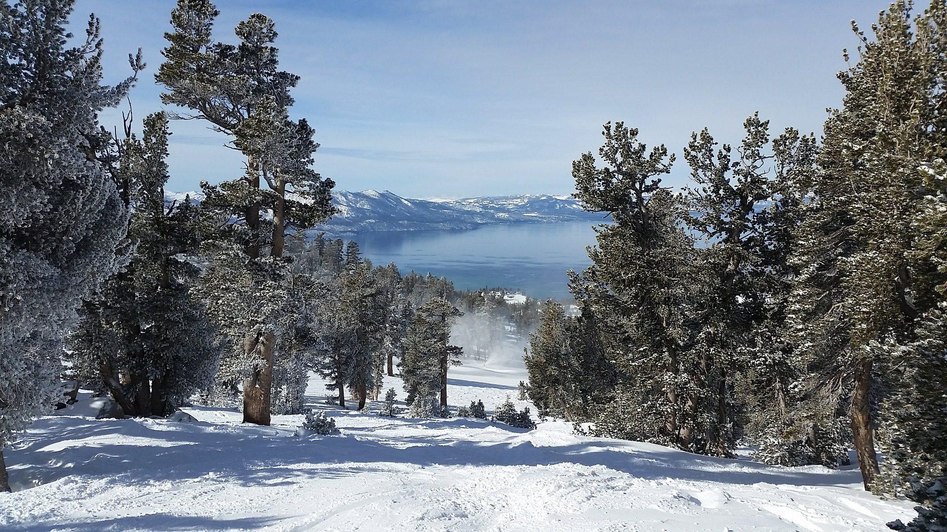 Lake Tahoe skiing, Lake Tahoe, CA
