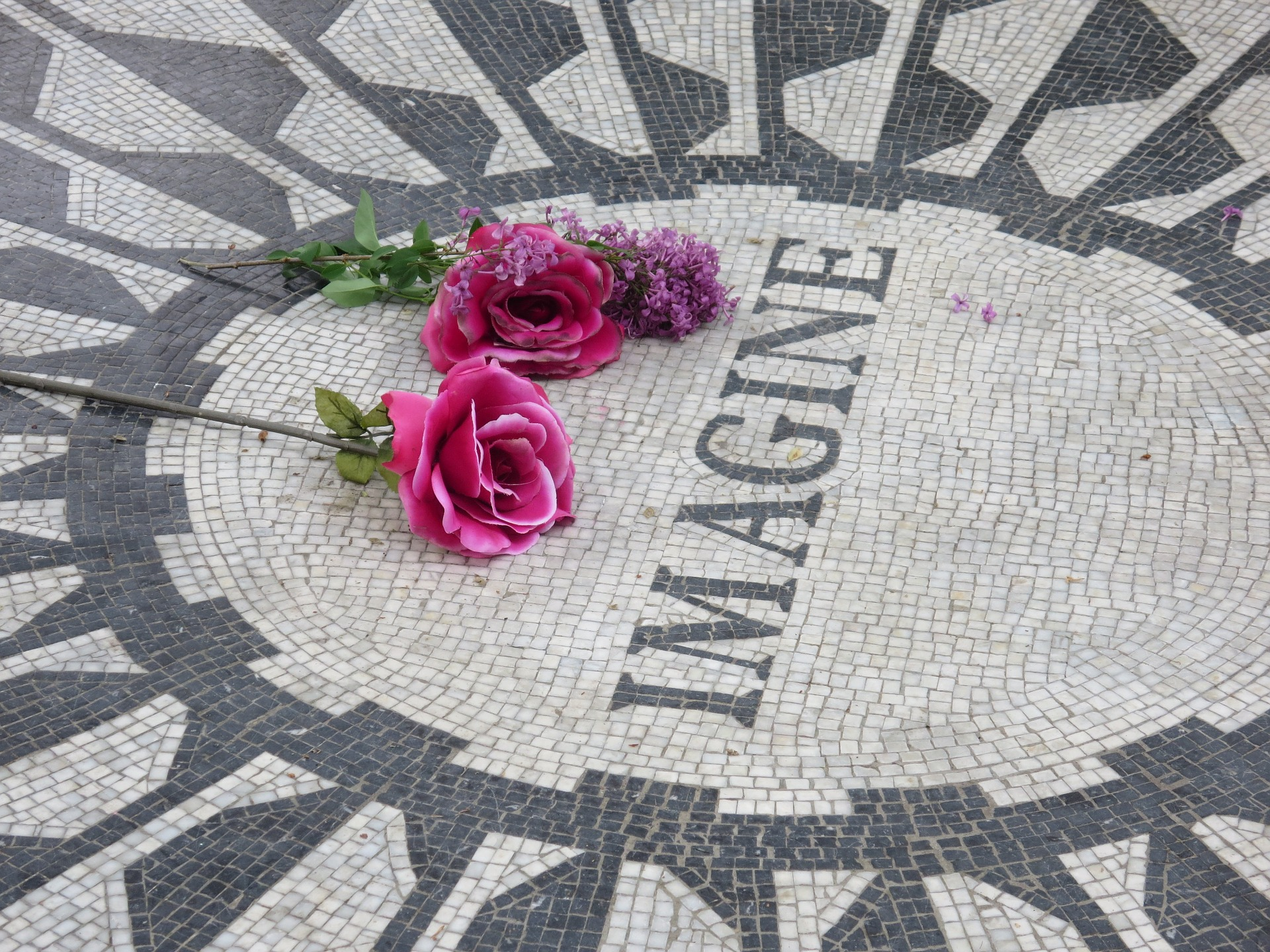Imagine Mosaic, Strawberry Fields, Central Park, NYC