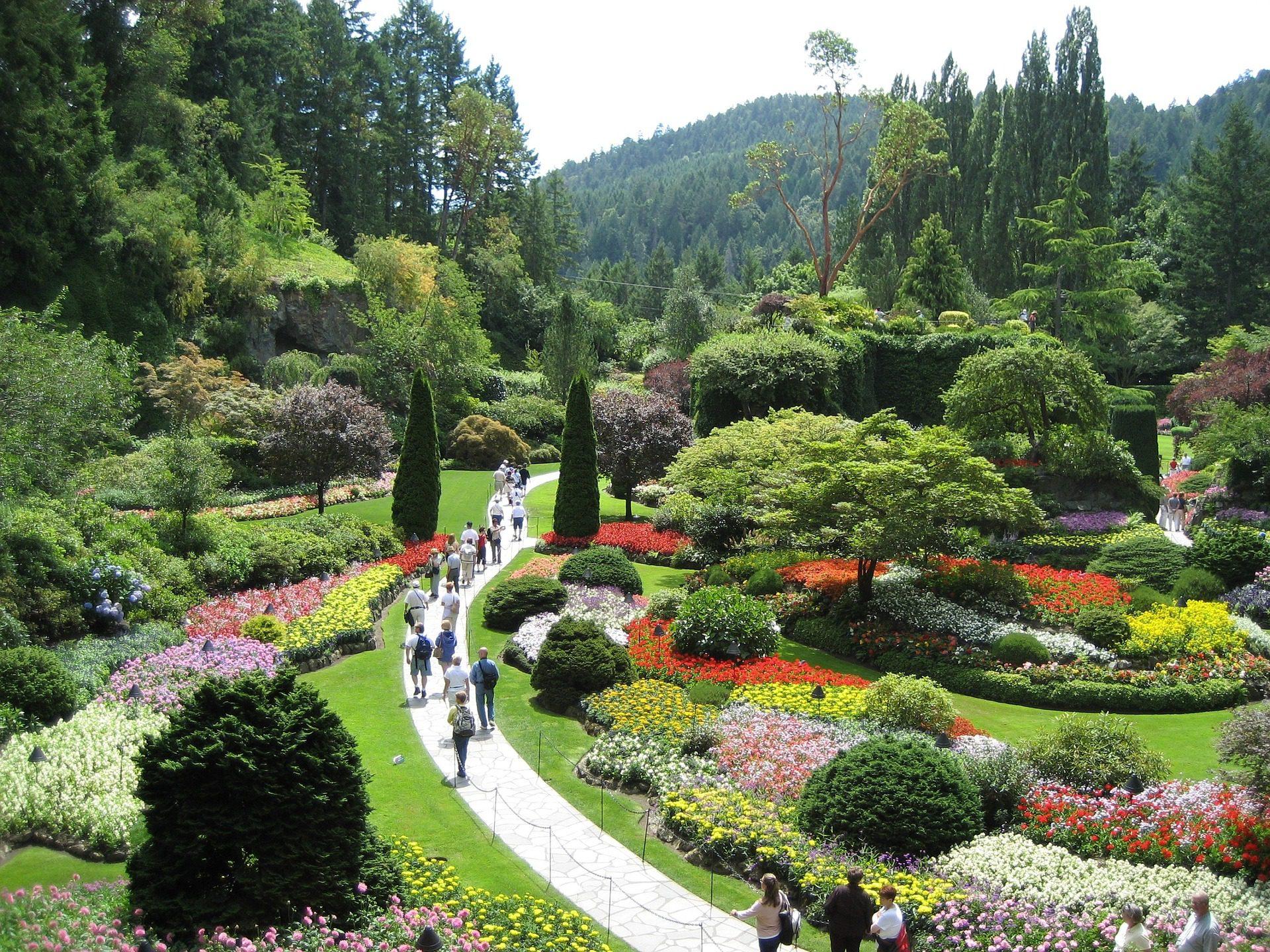Butchart Gardens, near Victoria, on Vancouver Island, Canada