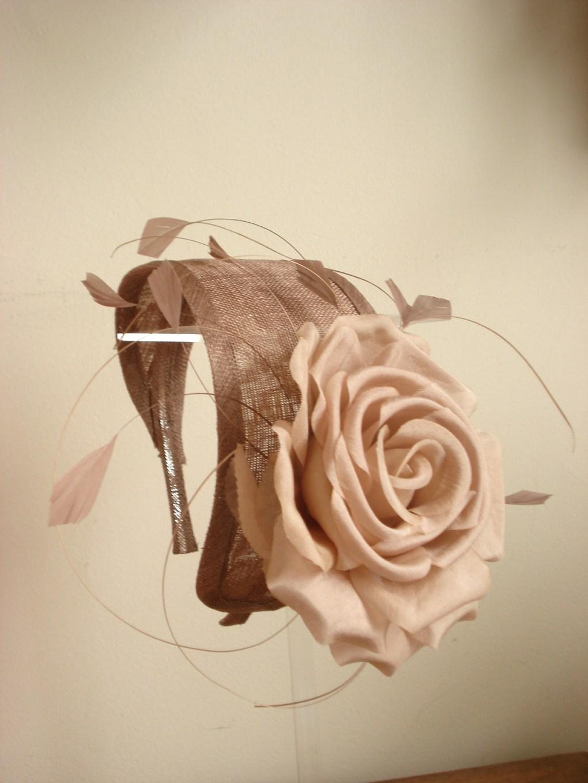 gros headband fleur