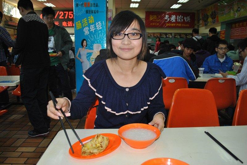 Один день из жизни китайского студента