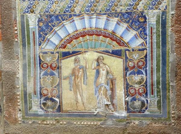 Дом с мозаикой Посейдона и его супруги Амфитриты