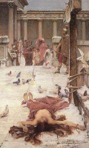 «Святая Евлалия», автор Джон Уильям Уотрехаус