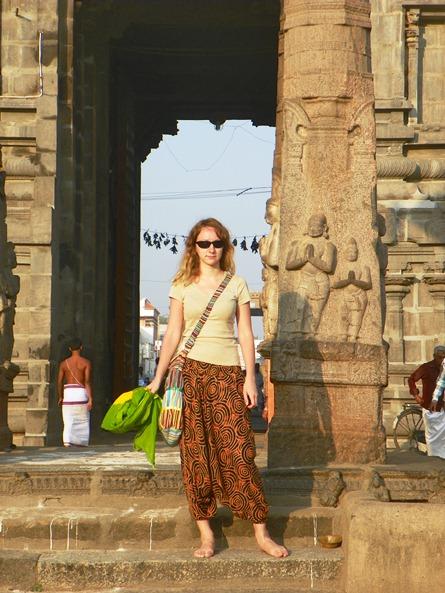 Мой внешний вид в Индии