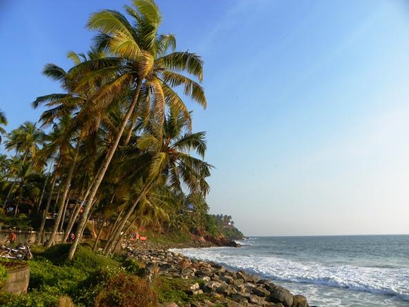 Пляжи Варкалы. Керала
