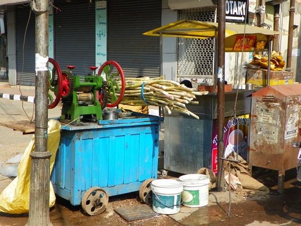 Изготовление тростникового сока
