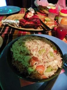 Ужин в Варкале