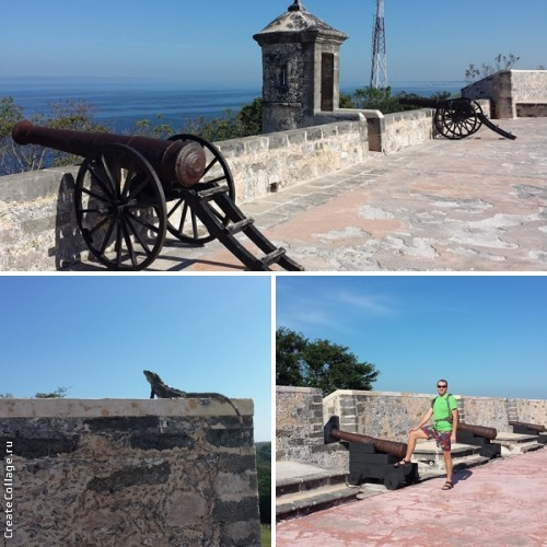 Форт Сан-Мигель. Верхний уровень