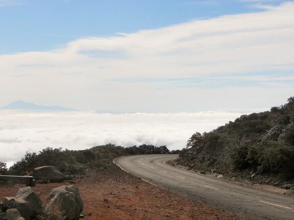 Дорога над облаками. Ла Пальма
