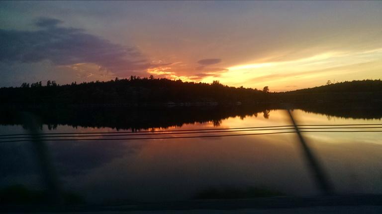 Sunset in Ontario