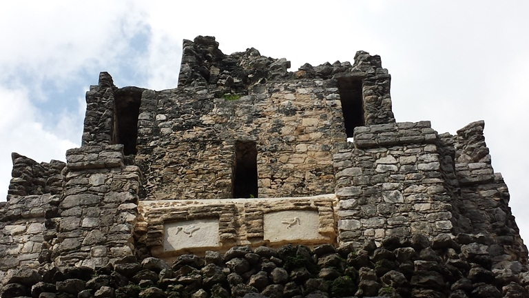El Castillo (The Castle). Muyil. Mexico