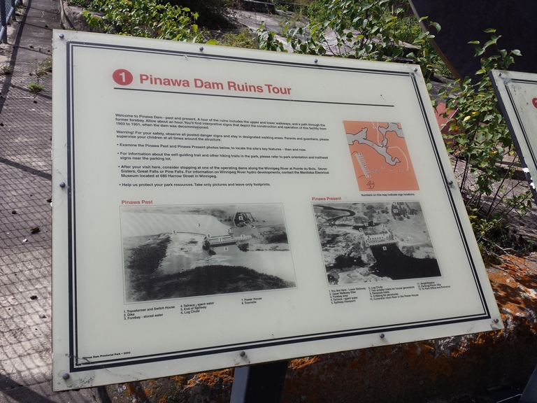 Pinawa Dam