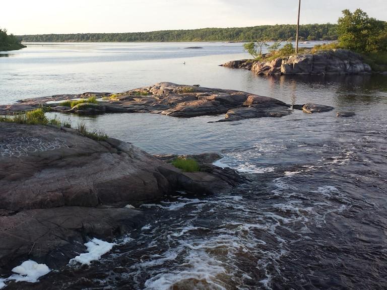 Seven Sisters Falls. Manitoba