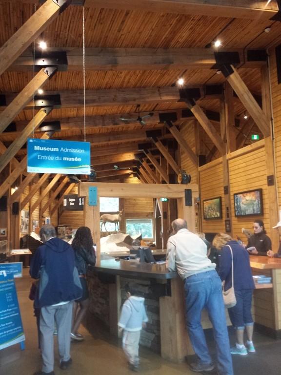 Glacier National Park. Information Centre