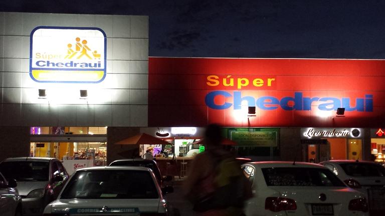 Supermarket. Puerto Aventuras