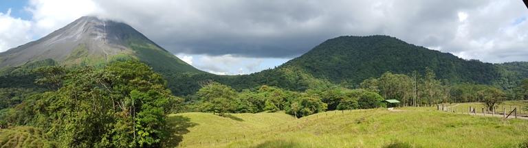 Volcano Arenal and Cerro Chato