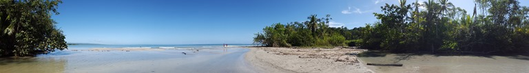 Playa Blanca. Cahuita National Park