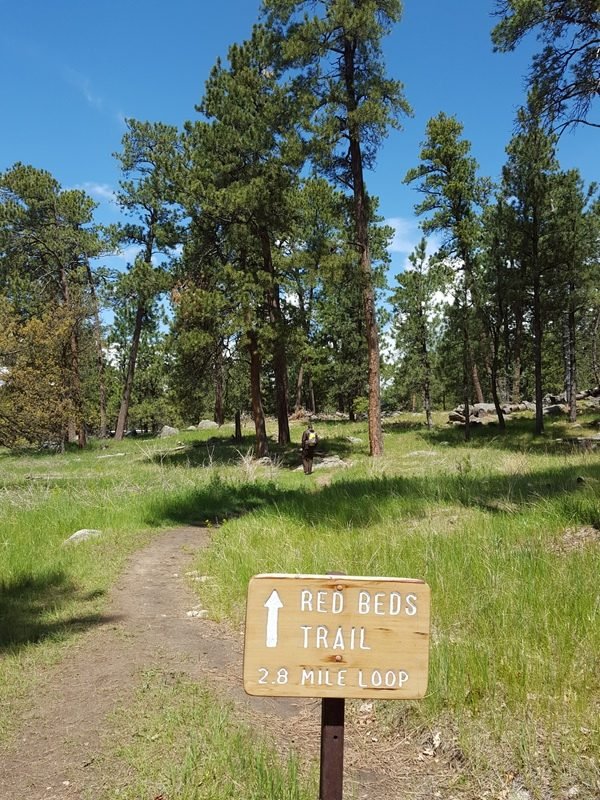 Red Beds Trail. Devils Tower National Monument