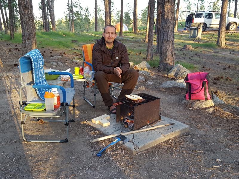 Big Pine Campground. SD